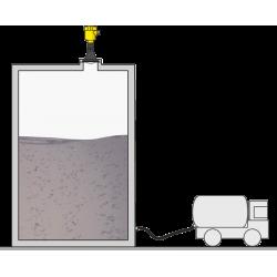 depósito de lodos
