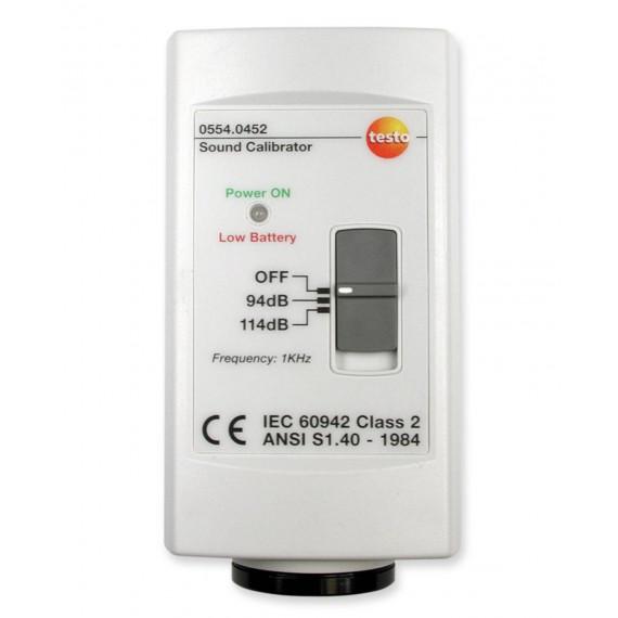 Calibrador de sonómetros
