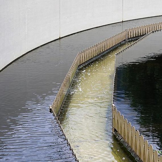 Medición de caudal en canal abierto