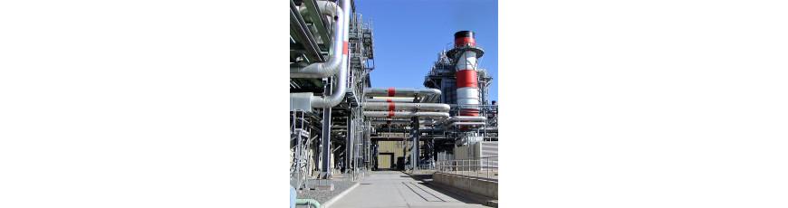 medición de procesos en sistemas de refrigeración centrales térmicas