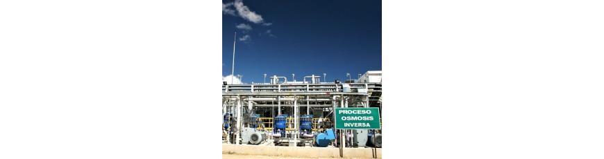 Desalinización agua de mar